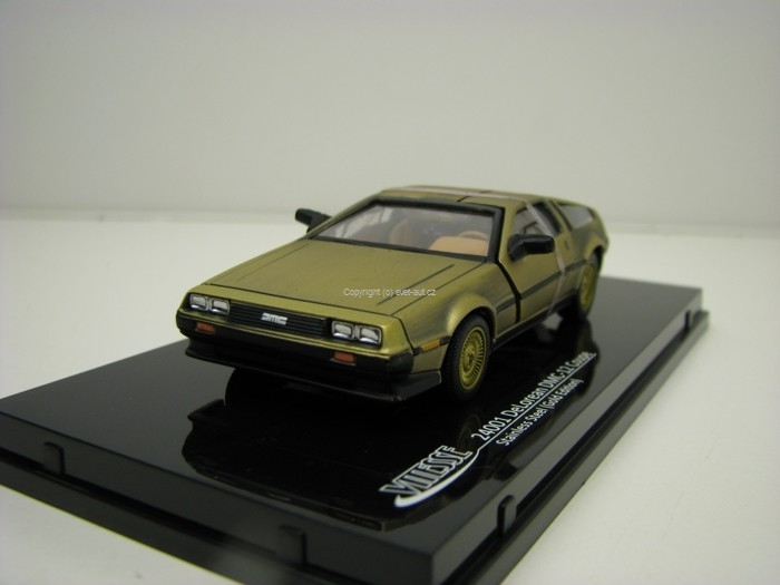 Delorean DMC-12 Coupe Stainles Steel Gold Edition 1:43 Vitesse
